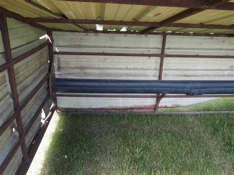 Calf Shelter Plans 8x16 Enclosed