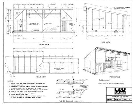 Calf-Hutch-Plans