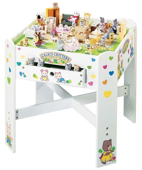 Calico Critters Table Diy Underneath