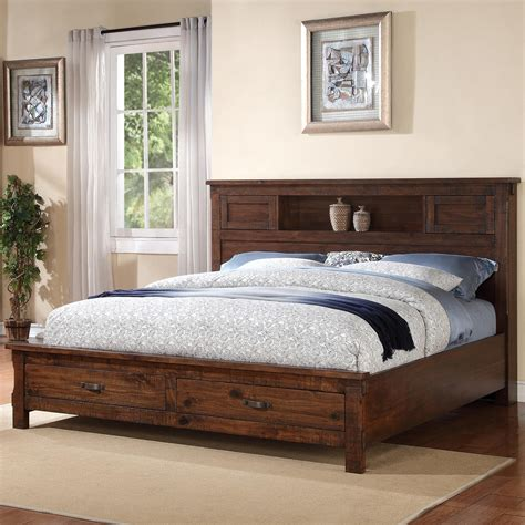 California King Platform Bed With Drawers Plans