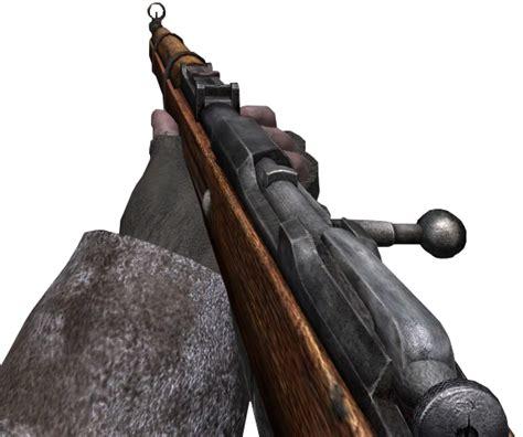 Call Of Duty Wiki Mosin Nagant And German Mauser Vs Russian Mosin Nagant