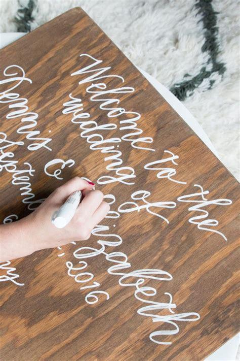 Calligraphy-On-Wood-Diy