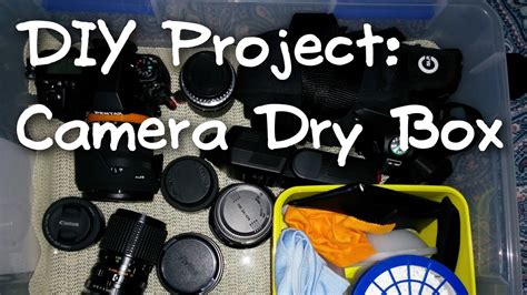 Camera Dry Box Diy Chrzest