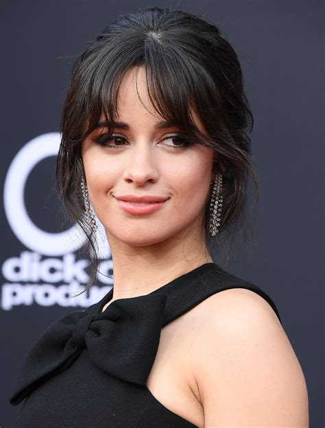 Camila Cabello Hair Bangs