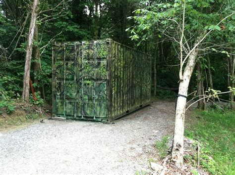 Camouflage Shipping Container And Getting A Shipping Container Delivered