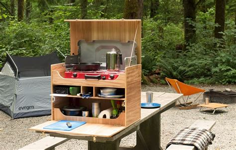 Camp Cook Box Plans