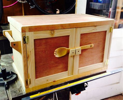 Camp Stove Box Plans