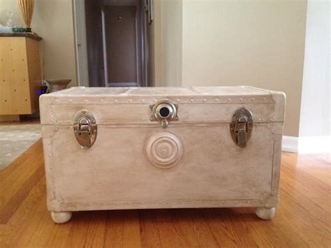 Camp Trunk Coffee Table Diy