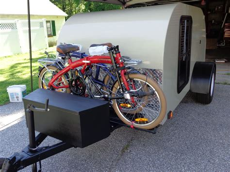 Camper Bike Rack Plans