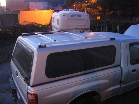 Camper Shell Roof Rack Diy