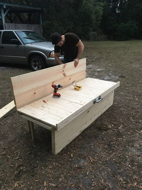 Camping Slat Bed Pattern Diy