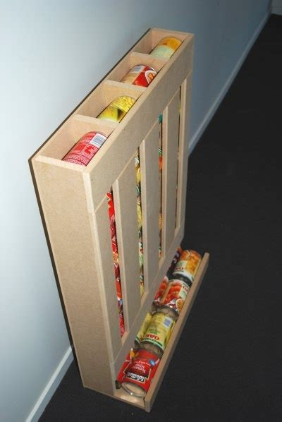 Can Dispenser Rack Diy