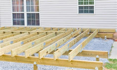Can I Build Deck Without Joists And Rafters