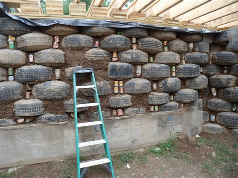 Can You Build A House Out Of Old Tires