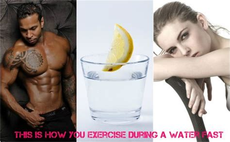 Can You Exercise During A Long Water Fast