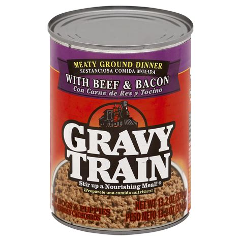 Can a dog eat dry gravy train Image