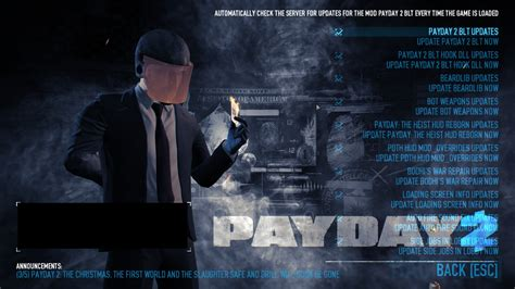 Can Hud Mods Get You Banned Payday 2 And Can You Run Payday 2 With Macbook Pri