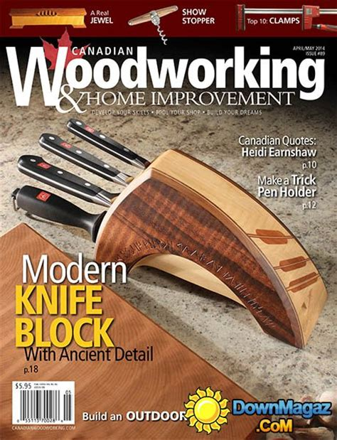 Canadian Woodworking Magazine Download
