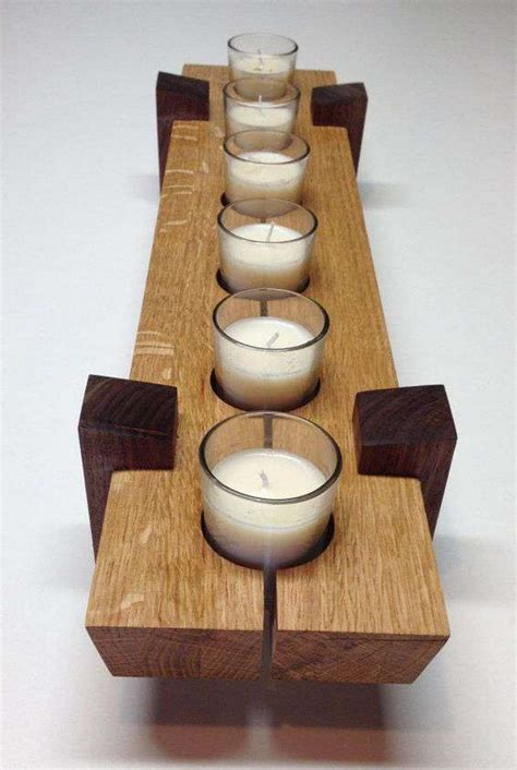 Candle Holder Wood Project