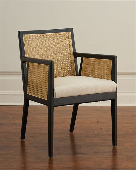 Caned Arm Dining Chair