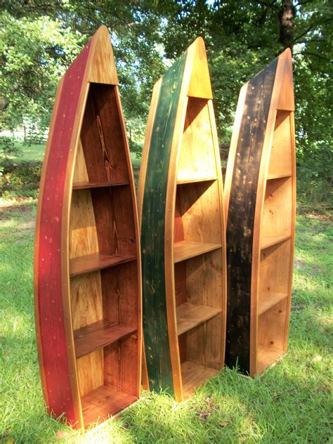 Canoe Book Case Ideas