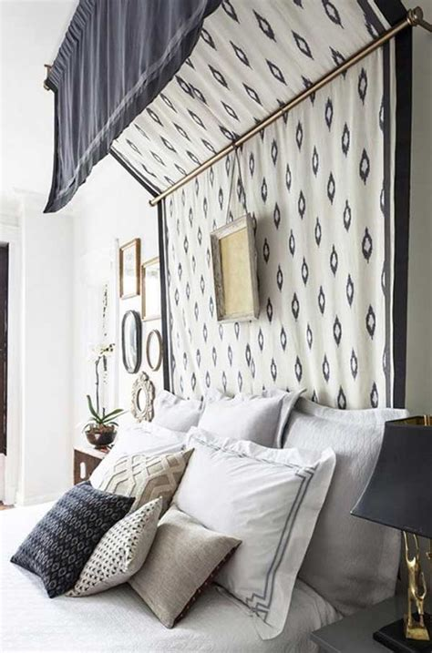 Canopy Above Bed Diy Decor