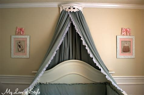 Canopy Bed Crown Diy Tutorials