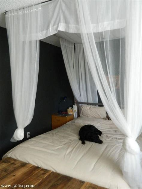 Canopy Bed Diy Pinterest Home