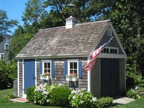 Cape-Cod-Style-Shed-Plans