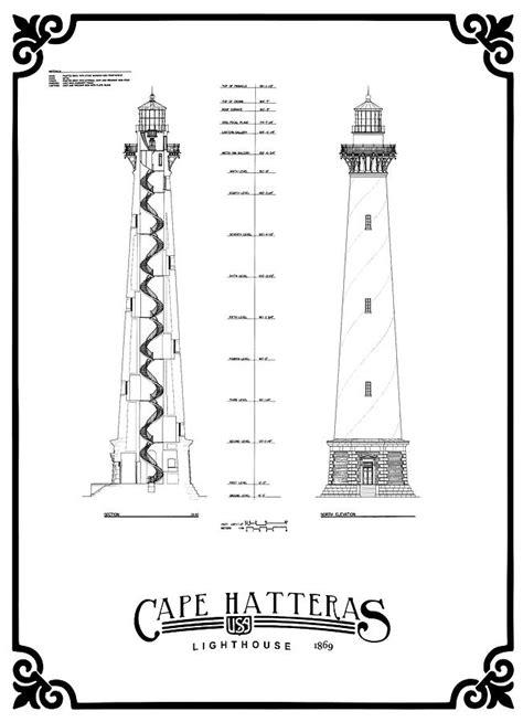 Cape-Hatteras-Lighthouse-Plans