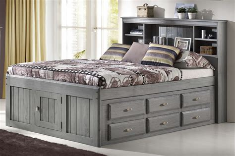 Captain Storage Bed Full Size Diy Headboard