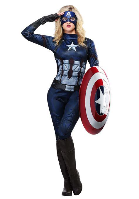 Captain-America-Female-Costume-Diy
