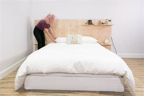 Captains Bed Diy Plywood Headboard