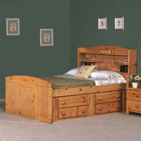 Captains Bed Full Size Plans For Dr