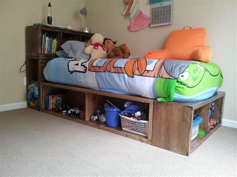 Captains Bed Twin Diy With Storage