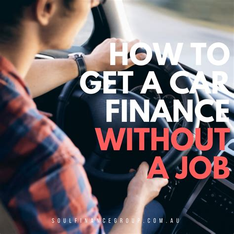 Car Finance Without Employment