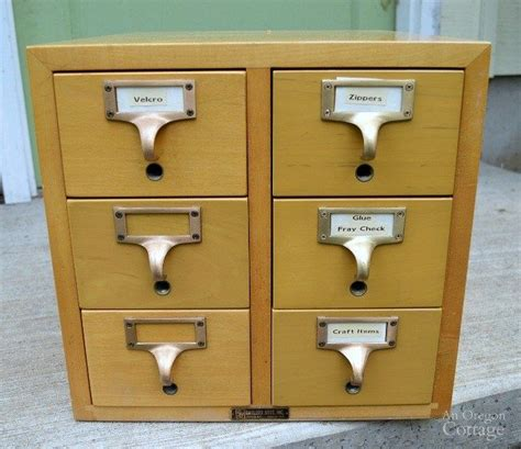 Card Catalog Table Diy Pipe