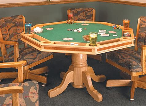 Card Table Design Plans