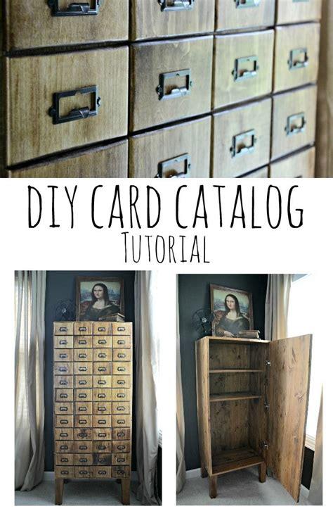 Card-Catalog-Cabinet-Diy
