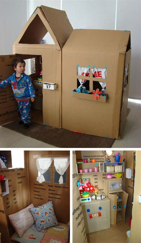 Cardboard Box Diy Games For Kids