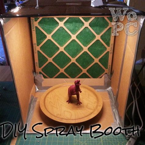 Cardboard Diy Airbrush Paint Booth Plans