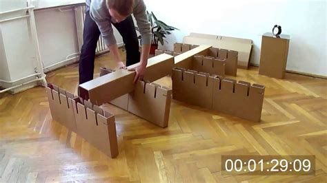 Cardboard Diy Bed Frame