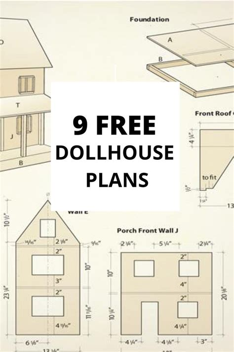 Cardboard Dollhouse Plans Free