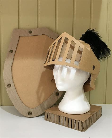 Cardboard Plans For Knights Helmet