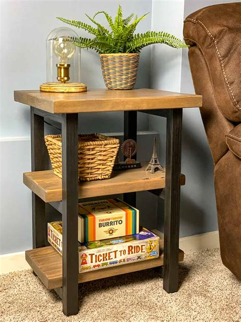 Cardboard Side Table DIY