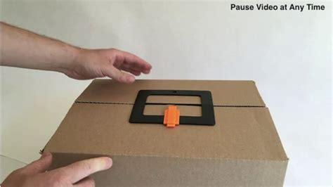 Cardboard-Box-Latch-Diy