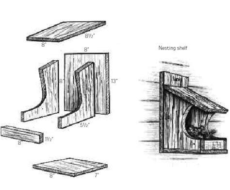 Cardinal-Nesting-Shelf-Plans