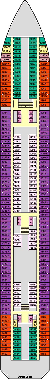 Carnival Liberty Deck Plans With Room Numbers