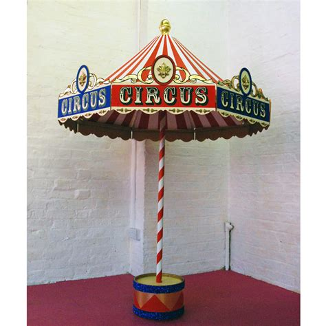 Carousel Table Decorations