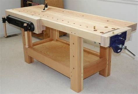 Carpenters Workbench Plan